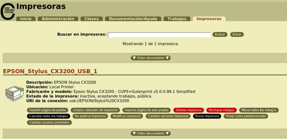 Eliminar documentos atascados en la cola de impresión en Mac (2/2)